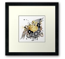 Abstract party design 7 Framed Print