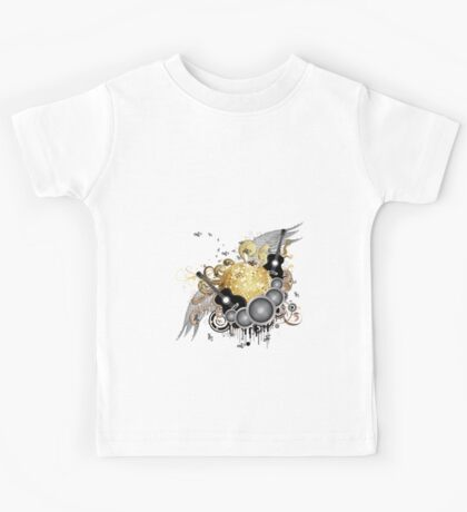 Abstract party design 7 Kids Tee