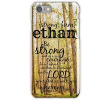 Ethan strong iPhone Case/Skin