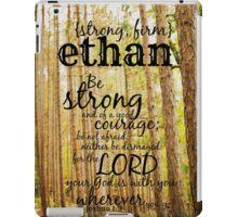 Ethan strong iPad Case/Skin
