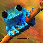 I'm A Little Blue by Bunny Clarke
