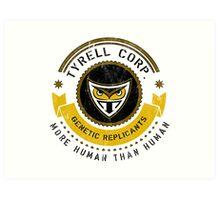 Tyrell Corporation Crest Art Print
