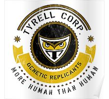 Tyrell Corporation Crest Poster