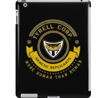 Tyrell Corporation Crest iPad Case/Skin