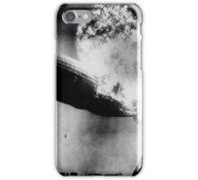 Hindenburg Disaster 1937 at Lakehurst Naval Air Station in New Jersey. iPhone Case/Skin