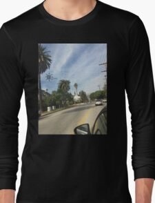 Hollywood Los Angeles Long Sleeve T-Shirt