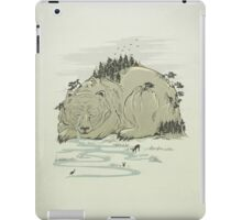 Hibernature iPad Case/Skin
