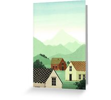 A la campagne Greeting Card