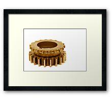 gears 6 Framed Print