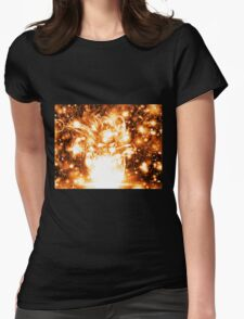 Fire Girl Womens Fitted T-Shirt