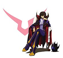 Code Geass Lelouch Photographic Print