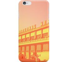 Early morning at the vintage airport iPhone Case/Skin