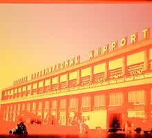 Early morning at the vintage airport by kitschstock