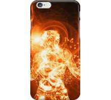 Fire Man iPhone Case/Skin