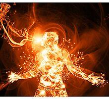 Fire Man by AnnArtshock
