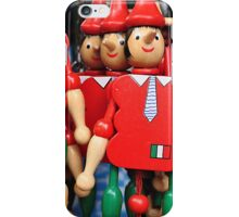 TIES, HATS AND WOODEN NOSES iPhone Case/Skin