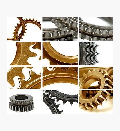 gears coposition Photographic Print