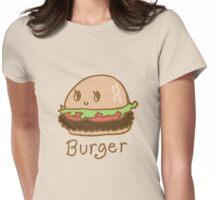Cute Burger Womens Fitted T-Shirt