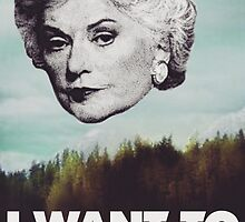 Bea Arthur - I want to Bea-lieve by Zbornak