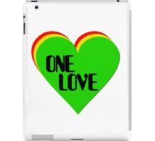 one love iPad Case/Skin