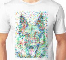 GERMAN SHEPHERD.1 - watercolor portrait Unisex T-Shirt