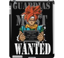 Guardias Most Wanted iPad Case/Skin