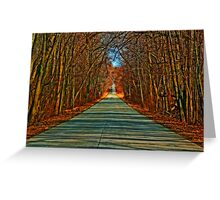 Heading Home Greeting Card