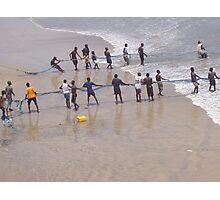 Net fishing, Atlantic Ocean, Accra, Ghana, 2005 Photographic Print