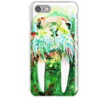 WALRUS WATERCOLOR PORTRAIT iPhone Case/Skin
