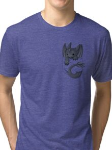 Is that a dragon in your pocket? Tri-blend T-Shirt