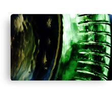 Abstract Glass Macro #13 Canvas Print
