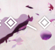 Porter Robinson - Pink Abstract Sticker