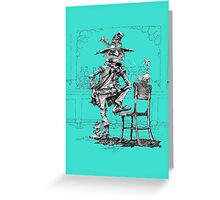 Old Gunfighter Greeting Card