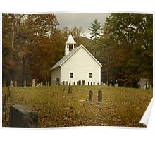 Church Cemetery Poster