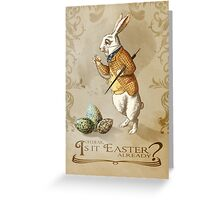 Time for Easter Greeting Card