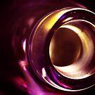 Abstract Glass Macro #21 by David Hawkins-Weeks