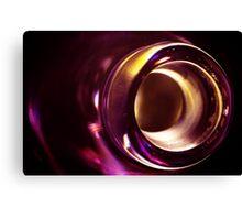 Abstract Glass Macro #21 Canvas Print