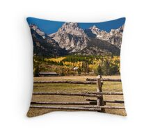 Grand Teton Splendor Throw Pillow