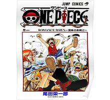One Piece Volume 1 Manga Cover Poster