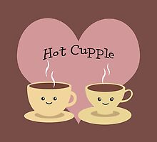 Hot Cupple of cups of Coffee by Eggtooth