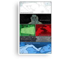 Murder Palette Canvas Print