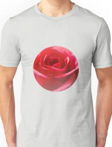 Red rose Close up Unisex T-Shirt
