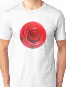 Red rose Close up 2 Unisex T-Shirt