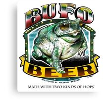 BUFO BEER Canvas Print