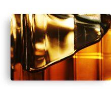 Abstract Glass Macro #24 Canvas Print