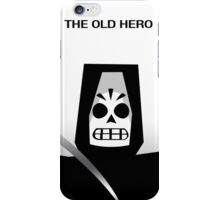 The Old Hero iPhone Case/Skin