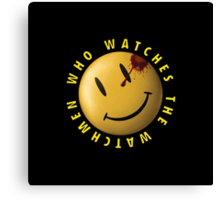 Who Watches The Watchmen? Canvas Print