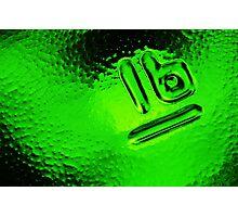 Abstract Glass Macro #30 Photographic Print