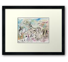 MOST BUSY(C2007) Framed Print