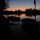 Boaties sun set by MatrixMan
